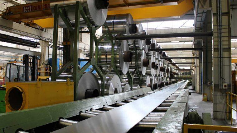 aluminium manufacturing machinery