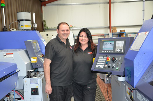 Joint owners of GWR Fasteners - Jude and Gary Robinson