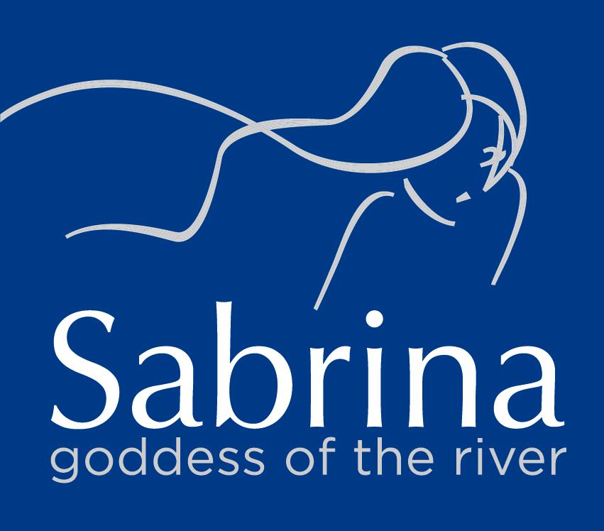 Logo Sabrina Boats abstract line drawing of a woman